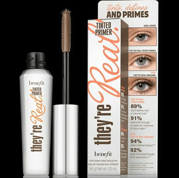9ef728de7d4 Benefit Makeup | Theyre Real Mascara Tinted Primer | Poshmark